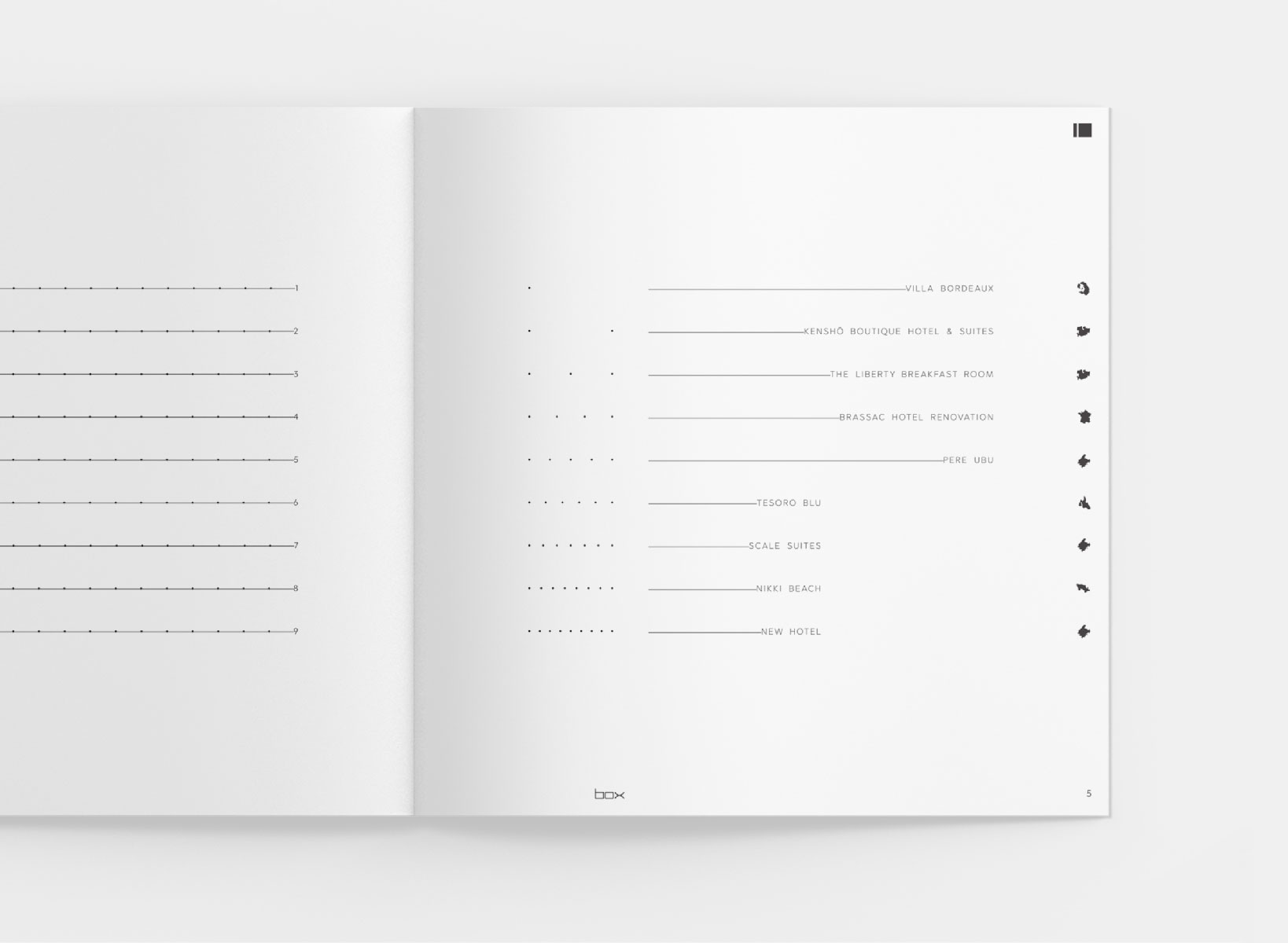 BOX Architects - 10 Years Anniversary Brochure